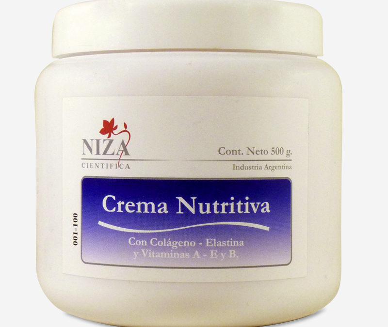 Crema Nutritiva con Colágeno, Elastina y Vitaminas A, E y B5 (500 gr.)