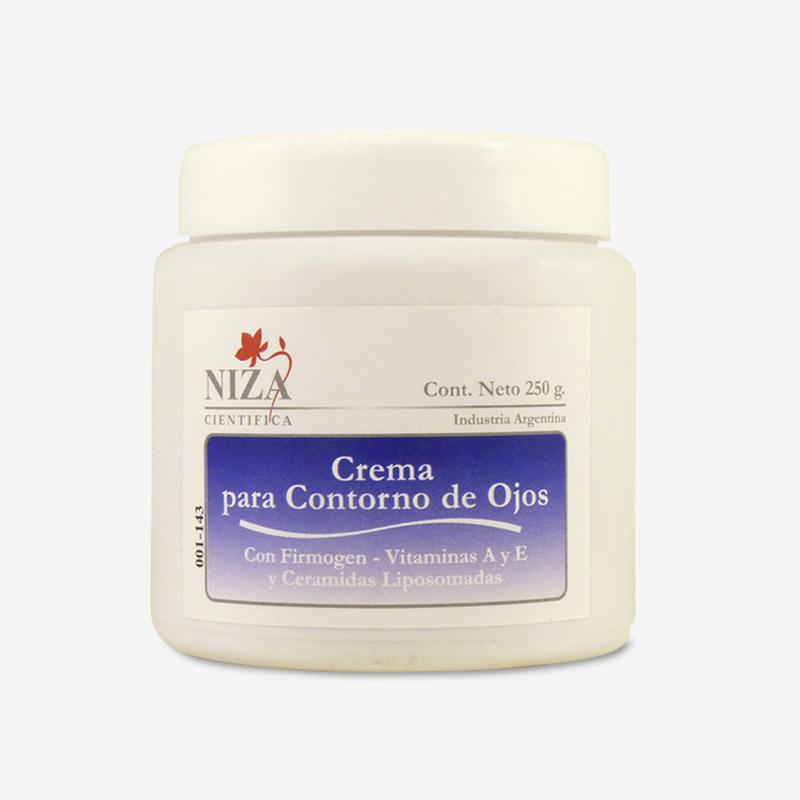 Crema Contorno de Ojos con Fitoextractos Reafirmantes, Vitaminas A y E, y Ceramidas (250 gr.)