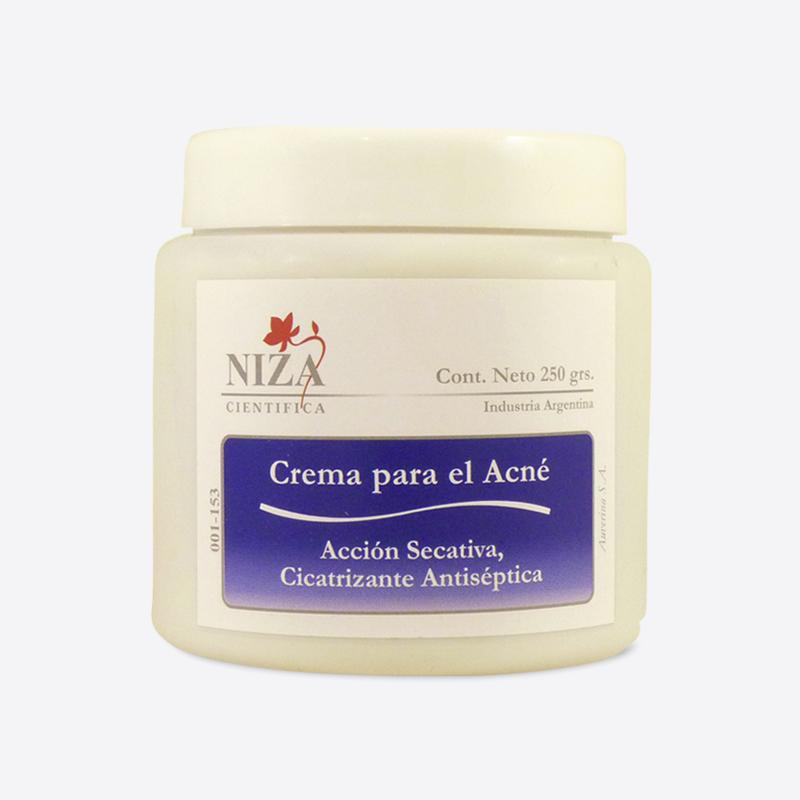 Crema para el Acné con Extracto de Aloe Vera, Azufre y Complejo Regulador Sebáceo (250 gr.)