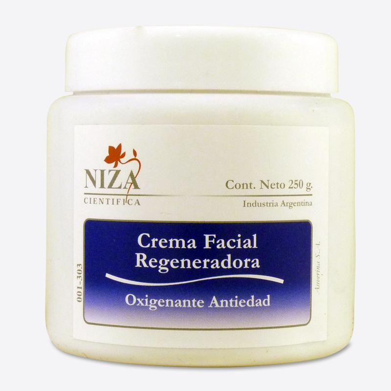 Crema Facial Regeneradora Oxigenante Antiedad (250 gr.)