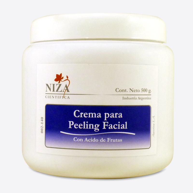 Crema para Peeling Facial con Ácido de Frutas (500 gr.)