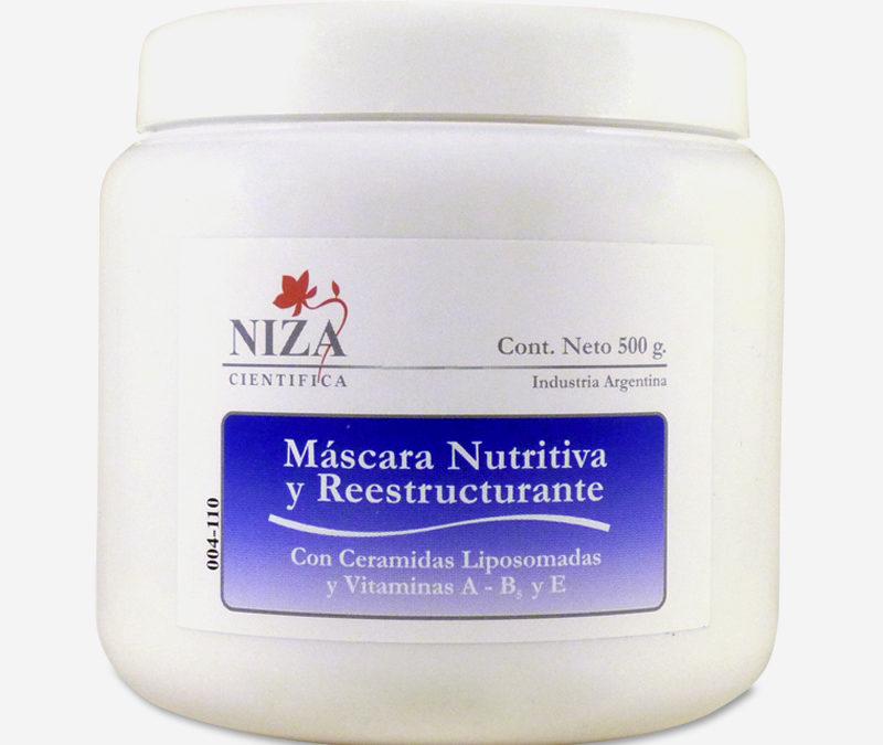 Máscara Nutritiva y Reestructurante con Vitamina A, B5 y E (500 gr.)