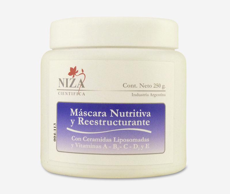 Máscara Nutritiva y Reestructurante con Vitamina A, B5 y E (250 gr.)