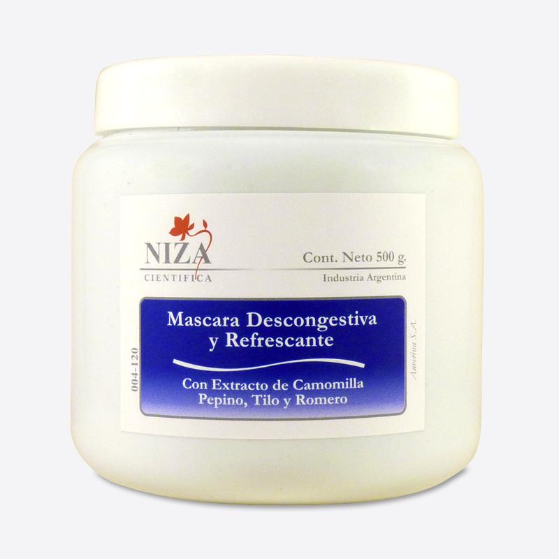Máscara Descongestiva y Refrescante (500 gr.)