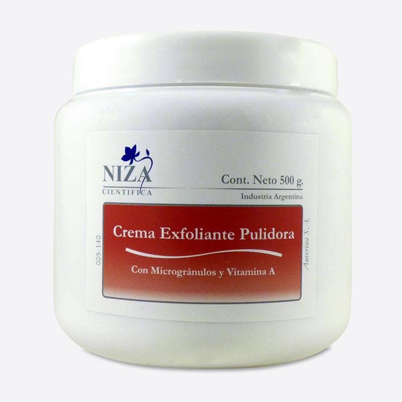 Crema Exfoliante Pulidora Corporal Pulido Intenso (500 gr.)