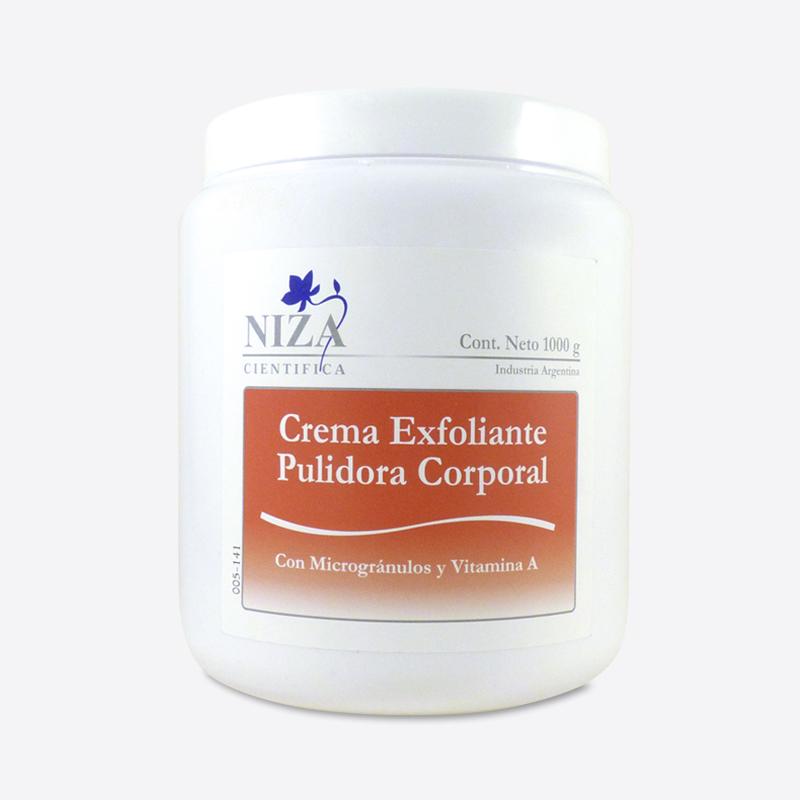 Crema Exfoliante Pulidora Corporal Pulido Intenso (1000 gr.)