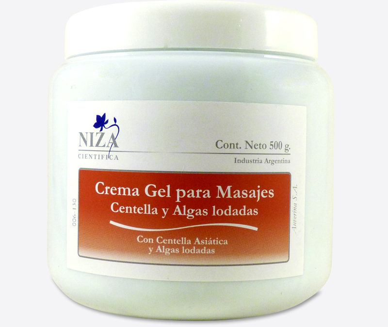 Crema Gel Para Masajes Con Algas Iodadas y Centella Asiática (500 gr.)
