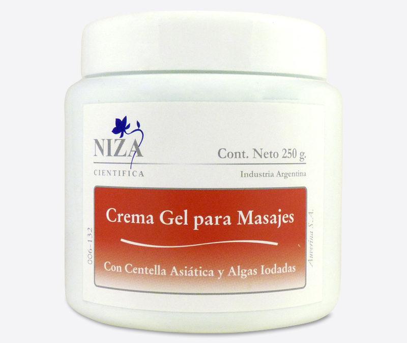 Crema Gel Para Masajes Con Algas Iodadas y Centella Asiática (250 gr.)