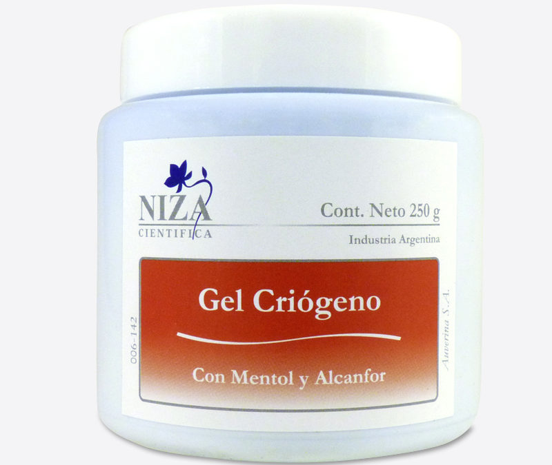 Gel Criógeno con Mentol y Alcanfor (250 gr.)