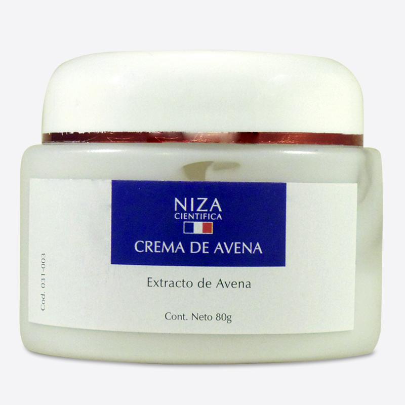 Crema de Avena para Pieles Sensibles con Extracto de Avena (80 gr.)