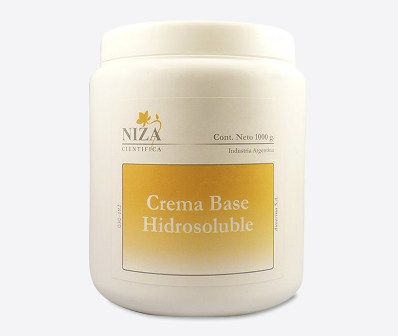 Crema Base Hidrosoluble