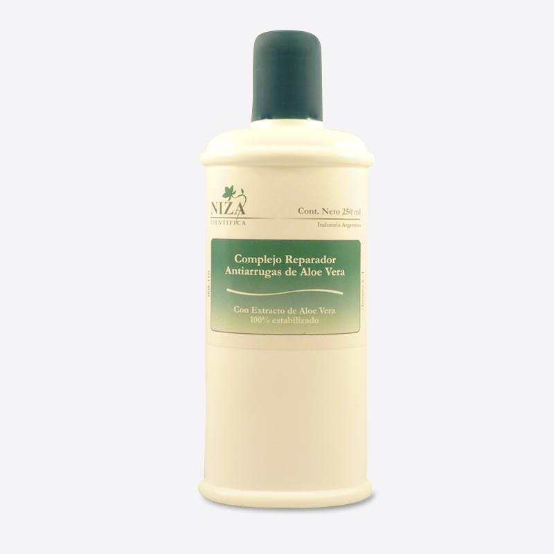 Complejo Reparador Antiarrugas de Aloe Vera (Con extracto de Aloe Vera 100% Estabilizado) (250 ml.)