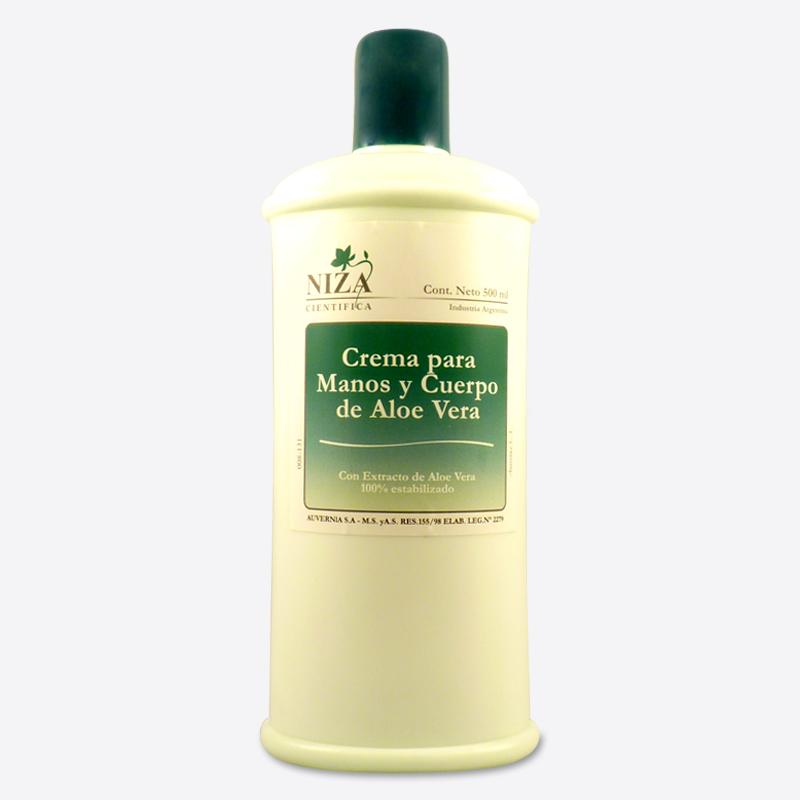 Crema para Manos y Cuerpo Aloe Vera (500 ml.)