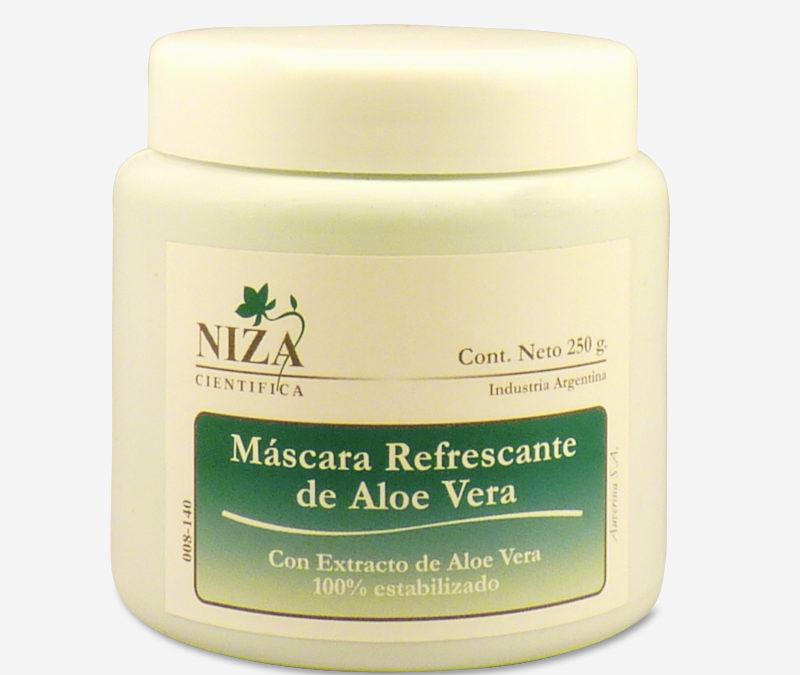 Máscara Refrescante de Aloe Vera con Extracto de Aloe Vera 100% Estabilizado (250 gr.)