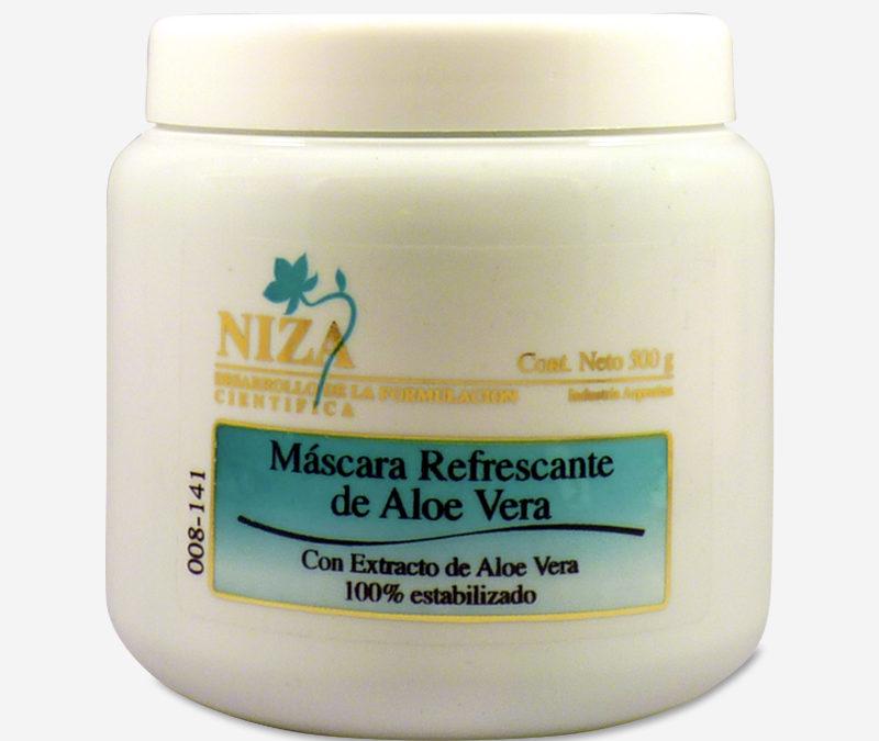 Máscara Refrescante de Aloe Vera con Extracto de Aloe Vera 100% Estabilizado (500 gr.)