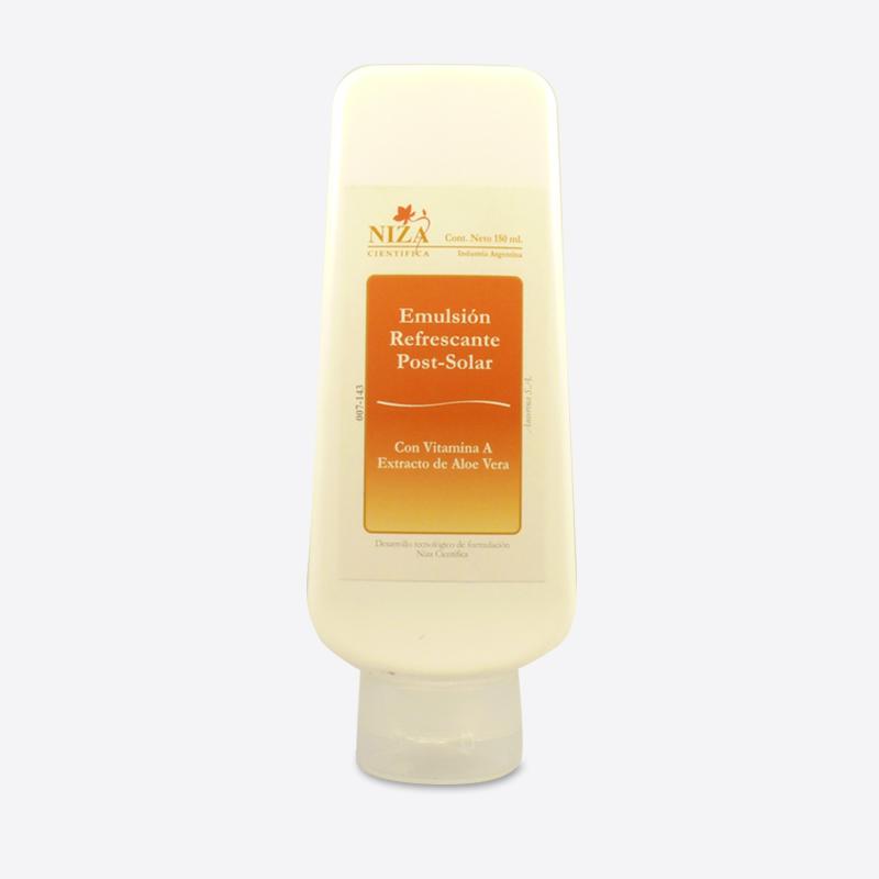 Emulsión Refrescante Post Solar con Vitamina A y Extracto de Aloe Vera
